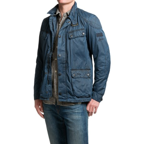 Barbour International Steve McQueen Double Colour Jacket (For Men)