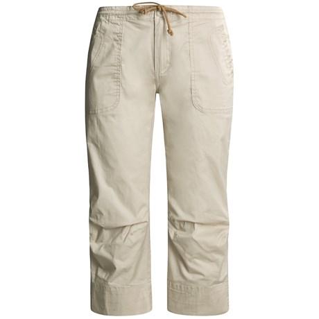 prAna Liv Stretch Capri Pants - Cotton (For Women)