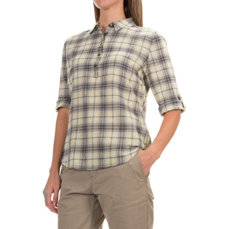 Royal Robbins Oasis Plaid Shirt - 3/4 Sleeve (For Women)