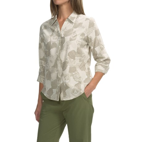 Royal Robbins Expedition Printed Shirt - UPF 50+, Snap Front, 3/4 Sleeve (For Women)