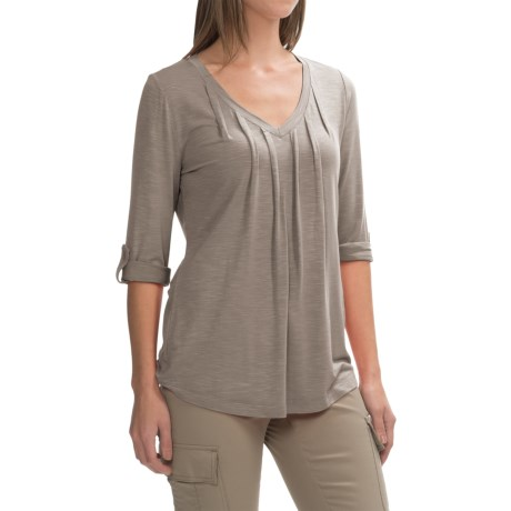 Royal Robbins Noe V-Neck Shirt - UPF 25+, 3/4 Sleeve (For Women)