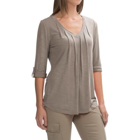 Royal Robbins Noe V-Neck Shirt - UPF 25+, 3/4 Sleeve (For Women)