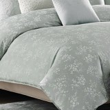 Barbara Barry Clover Duvet Cover - King, 250 TC Cotton Sateen