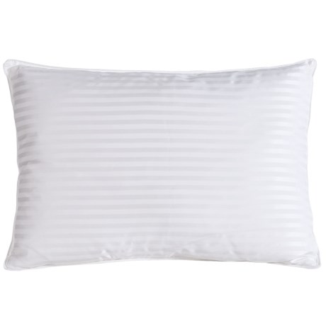 Blue Ridge Home Fashions Pinnacle Back Sleeper Down Pillow - Queen, 500 TC