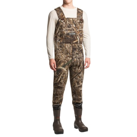 Compass 360 Rogue Neoprene Chest Waders - Thinsulate® Bootfoot (For Men)