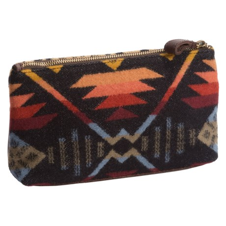 Pendleton Zip Pouch - Fabric and Leather (For Women)