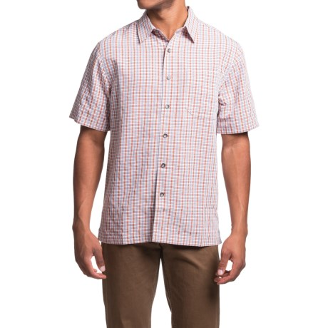 Royal Robbins Desert Pucker Plaid Shirt - Short Sleeve (For Men)