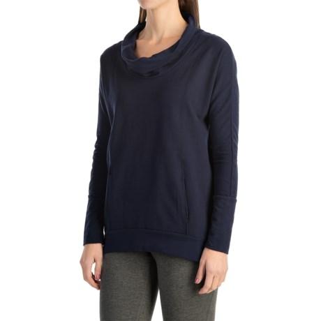 lucy Savasana Cowl Neck Shirt - Long Sleeve (For Women)