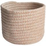 "Colonial Mills Sunbrella® Sandstorm Storage Basket - 12x9"""