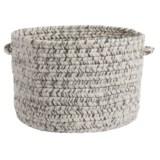 """Colonial Mills Textured-Tweed Storage Basket - 14x10"""""""