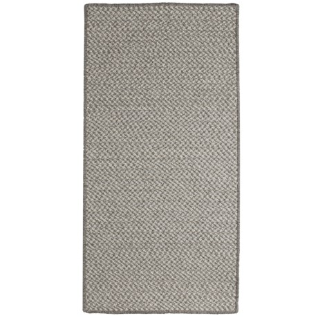 Colonial Mills All-Natural Houndstooth Wool Area Rug - 7x9'