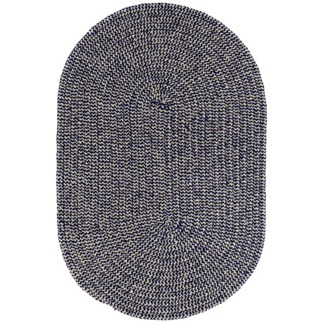 Colonial Mills Chenille Check Braided Accent Rug - 2x3'
