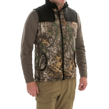 Two-Tone Quilted Vest (For Men)