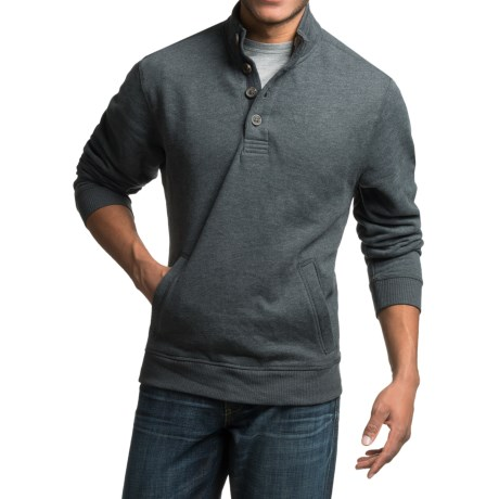 Specially made Sherpa-Lined Sweatshirt with Pockets (For Men)
