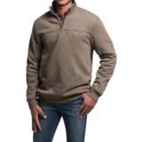 Solid Sweatshirt - Zip Neck (For Men)