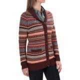Woolrich Blazing Star Fair Isle Cardigan Sweater (For Women)