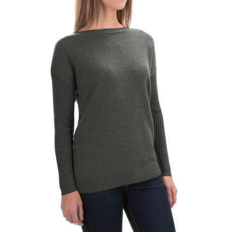 Woolrich Clapshaw Boxy Sweater (For Women)