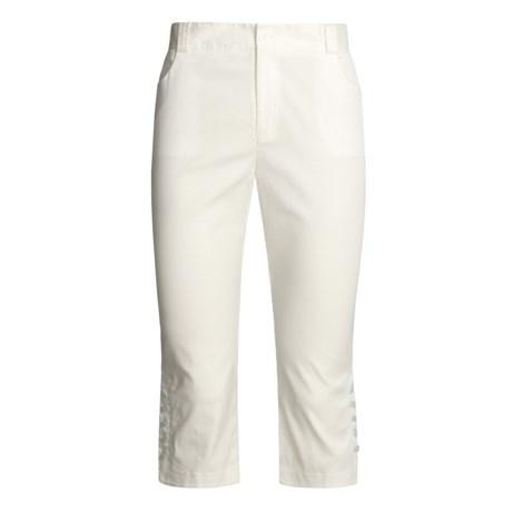 Kial Stretch Capri Pants - Cotton (For Women)