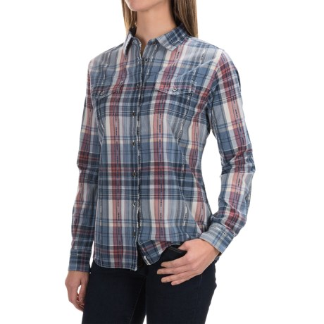Woolrich Cottonwood Dobby Shirt - Long Sleeve (For Women)