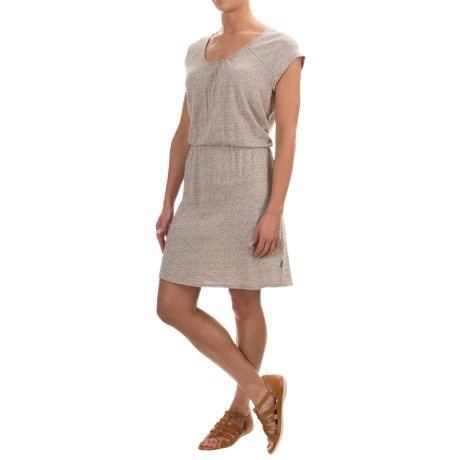 Woolrich Elemental Printed Knit Dress - Short Sleeve (For Women)