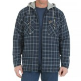 Wrangler Riggs Workwear Hooded Flannel Work Jacket - Insulated (For Men)