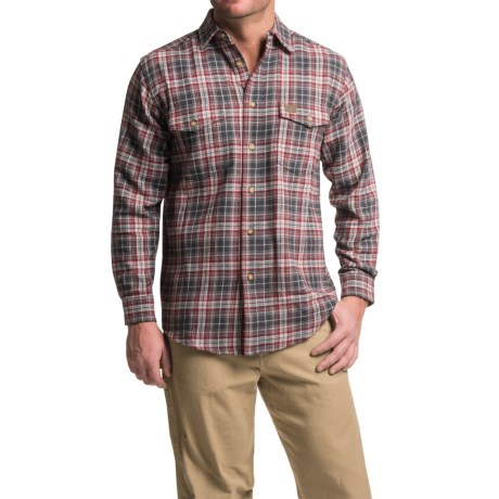 Wrangler Riggs Workwear Flannel Work Shirt - Heavyweight, Long Sleeve (For Men)