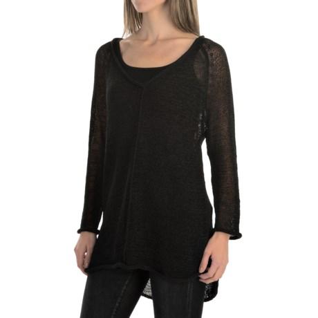 Pure Handknit Viola Sweater (For Women)