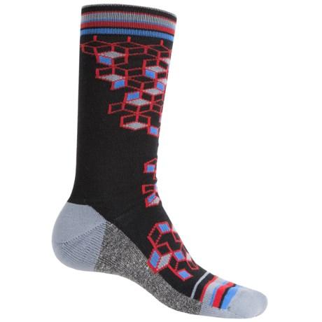 Wigwam Qubix Socks - Merino Wool Blend, Mid Calf (For Men)