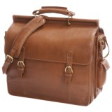 Scully Hidesign Overnight Laptop Briefcase - Leather