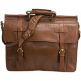 Scully Roma Double Flap Overnight Briefcase