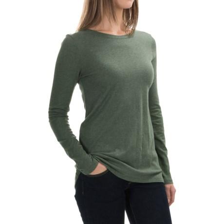 Cotton-Modal Shirt - Long Sleeve (For Women)