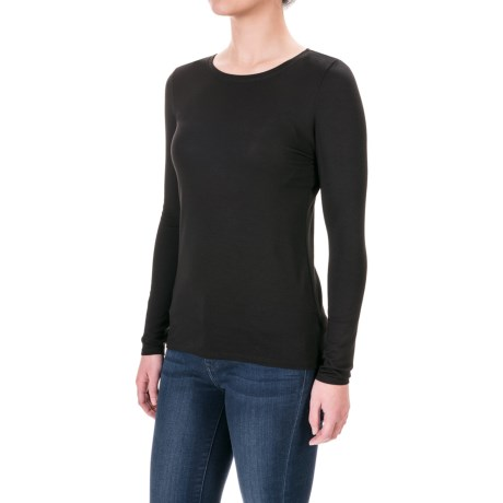 Paraphrase Stretch-Jersey Shirt - Long Sleeve (For Women)