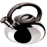 OGGI Stainless Steel Whistling Tea Kettle - 102 fl.oz.