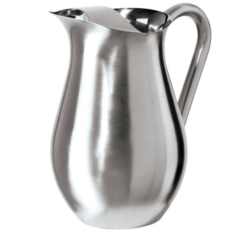 Oggi OGGI Stainless Steel Pitcher with Ice Guard - 2 qt.