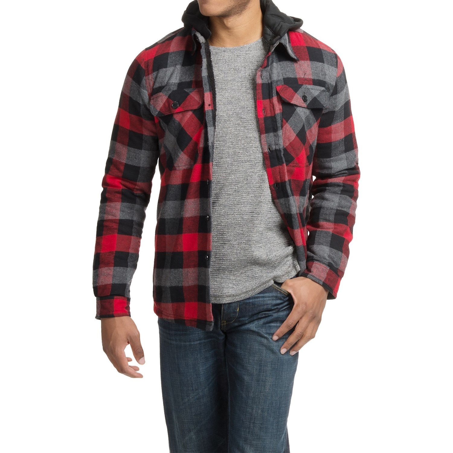 Women 39 s hooded flannel shirt australia english sweater vest for Places to buy flannel shirts