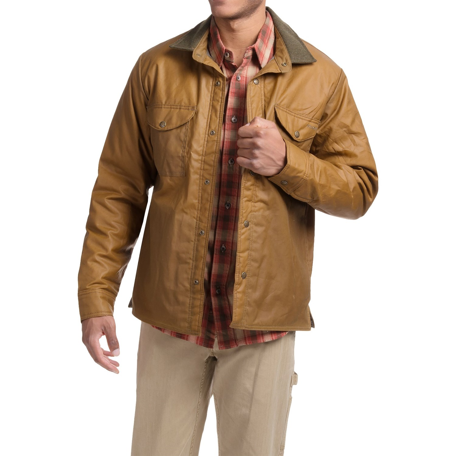 Customer Reviews of Filson Snap Front Shirt Jacket - Insulated ...