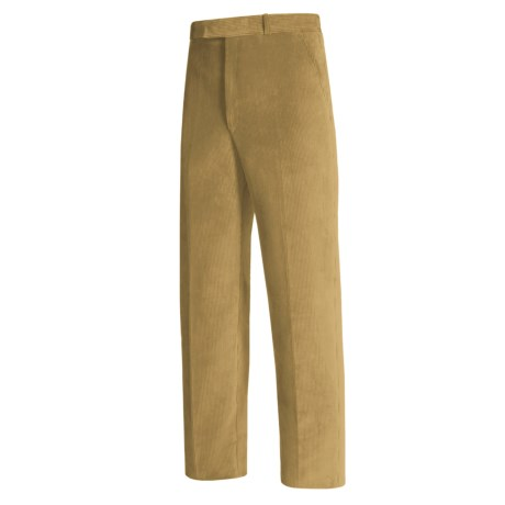 Lambourne English Corduroy Pants - Robust, Flat Front (For Men)