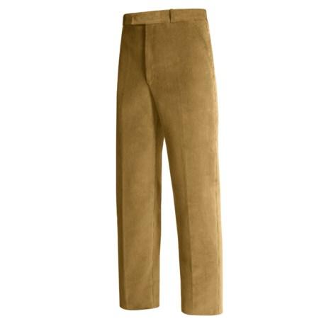 Lambourne English Corduroy Pants - Robust, Flat Front (For Men)