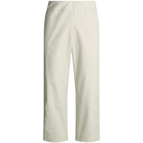 Think Tank Crop Pants - Stretch Cotton Faille (For Women)