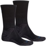 Lorpen Micromodal® Mid Hiking Socks - 2-Pack, Crew (For Men and Women)
