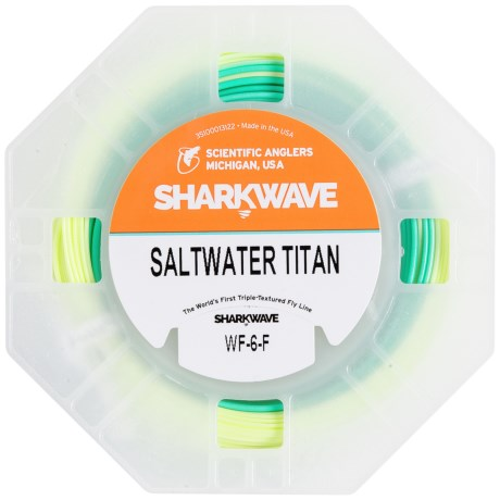 Scientific Anglers Sharkwave Saltwater Titan Fly Line- Weight Forward, Floating