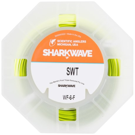 Scientific Anglers Sharkwave Saltwater Taper Fly Line - Floating, Weight Forward