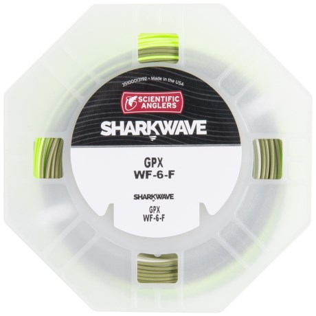 Scientific Anglers Sharkwave GPX Stealth Taper Fly Line - Floating, Weight Forward