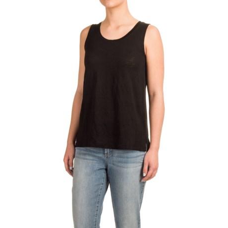 Mercer & Madison Linen-Chiffon Tank Top (For Women)