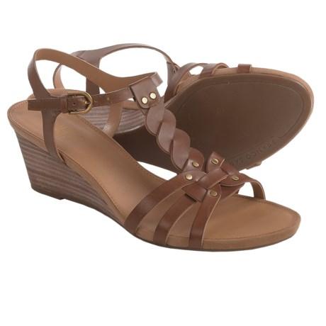 Franco Sarto Durango Wedge Sandals - Leather (For Women)