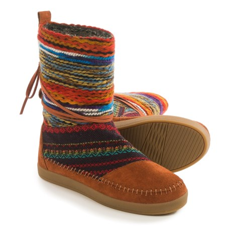 TOMS Nepal Winter Boots - Suede (For Women)