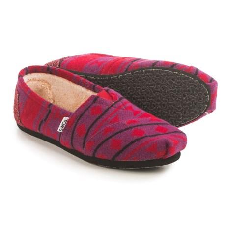 TOMS Classic Knit Espadrilles (For Women)