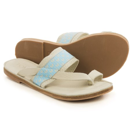 TOMS Isabella Sandals - Leather (For Women)