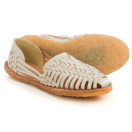 TOMS Classic Huarache Shoes - Leather, Slip-Ons (For Women)