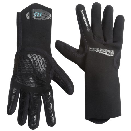Camaro Seamless Dive Gloves - 1mm (For Men and Women)